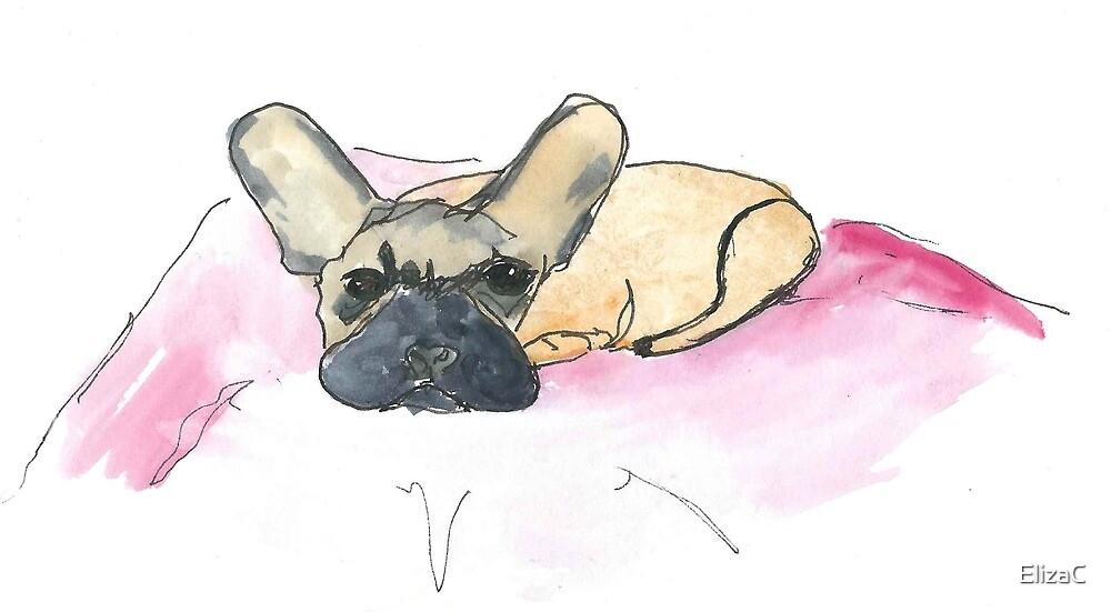 Joy's dog  by ElizaC