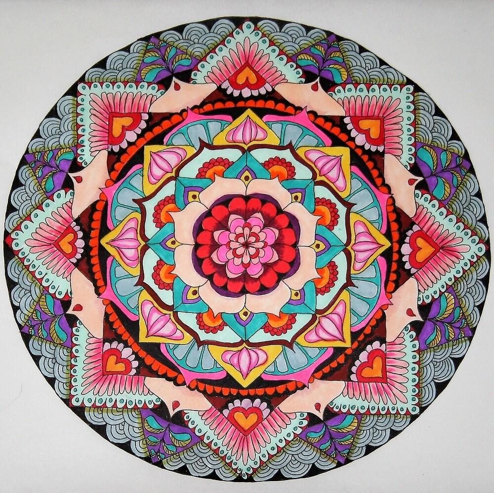 Lotus Mandala by jjupin