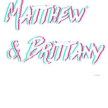 Matthew & Brittany   Official Logo Design by mbsauthentic