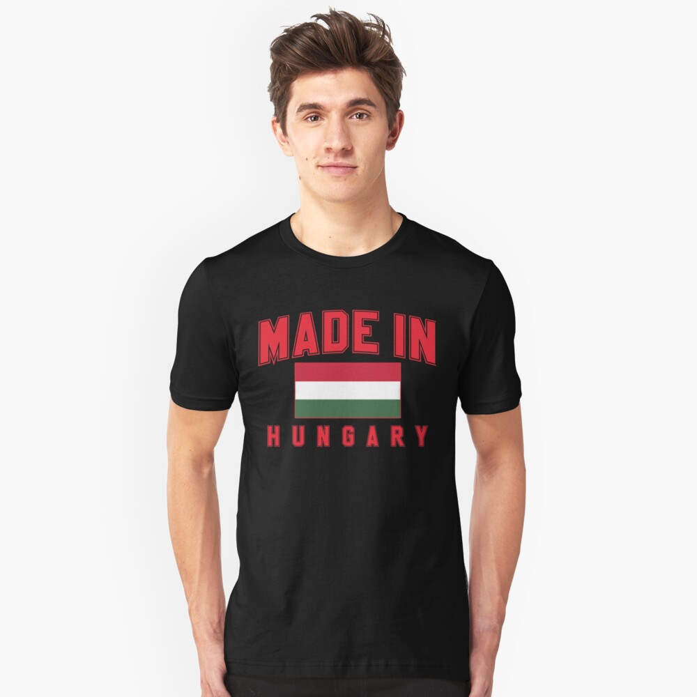 Made in Hungary Unisex T-Shirt Front