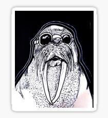 Cool Walrus Sticker