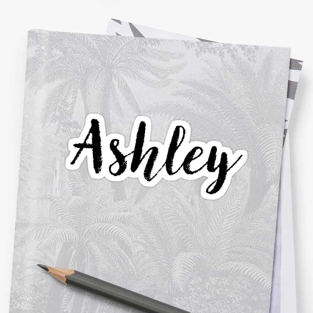 Ashley - Name Stickers Tees Birthday by klonetx