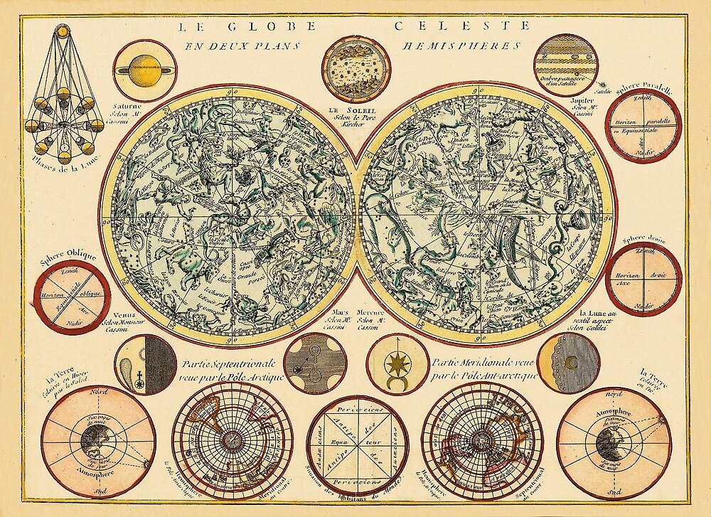 Celestial Map 1748b by mollyfare