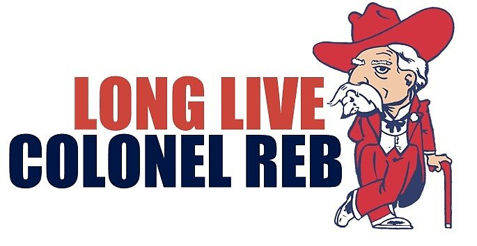 Ole Miss Colonel Reb by Taylar Teel