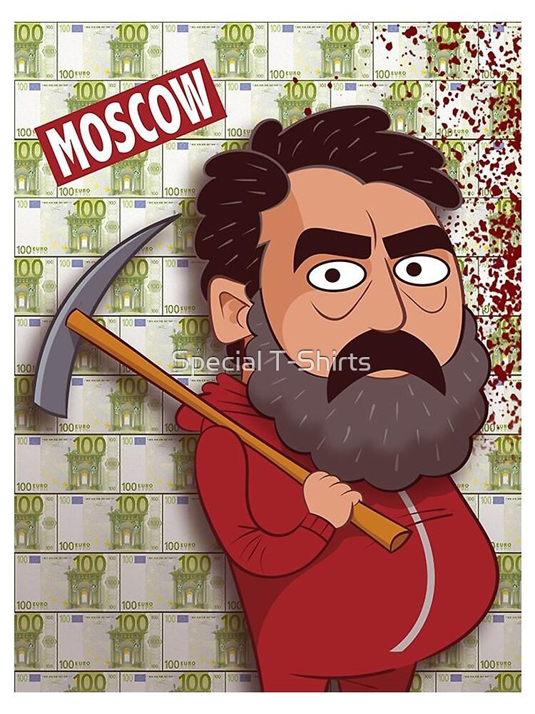 La Casa de Papel - Moscow by Fabiovieira