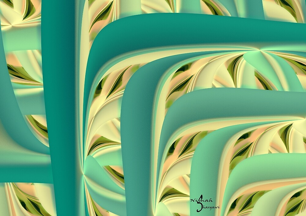 Vines with thornes by Nismah Shargawi