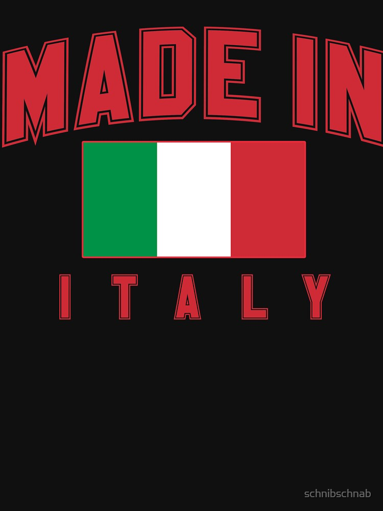 Made in Italy by schnibschnab
