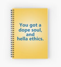 Hella Ethics Spiral Notebook
