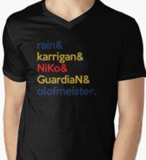 FaZe 'Team' | Multi Men's V-Neck T-Shirt