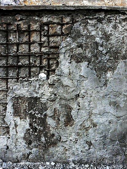 Damaged Concrete by David Thibodeaux