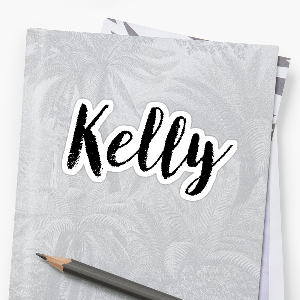 Kelly - Name Stickers Tees Birthday by klonetx
