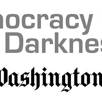 Democracy Dies in Darkness by ViktorCraft