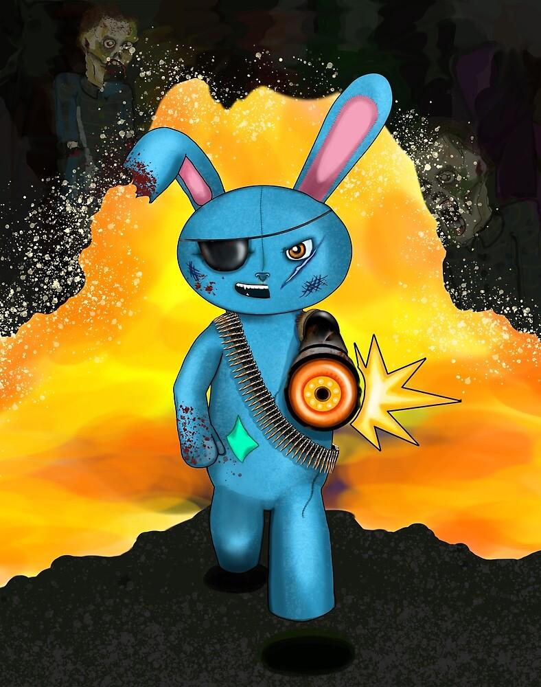 Bionic Bunny by claireesophia