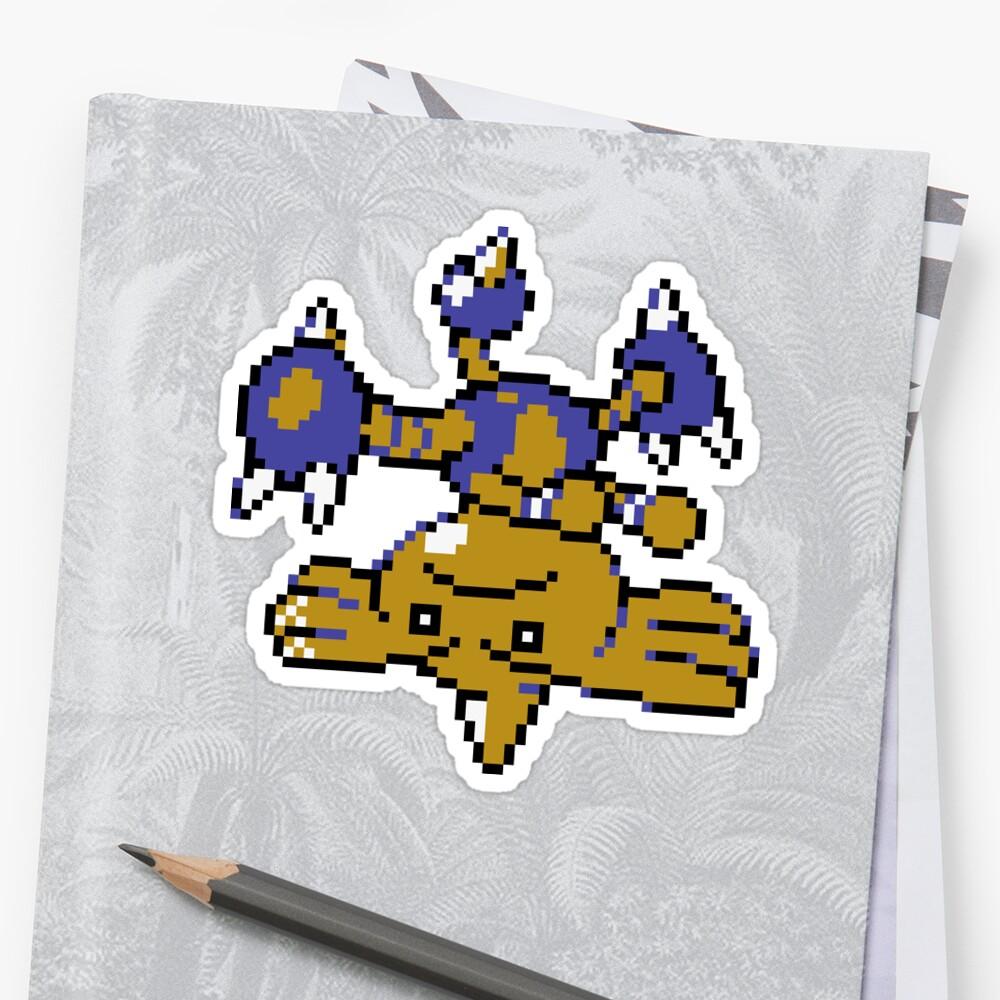Hitmontop GSC Sprite Pokémon by KevinGoss7