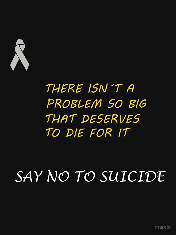 NO TO SUICIDE by rnarcio