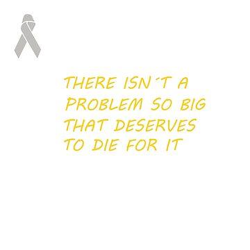 NO TO SUICIDE by rnarcio
