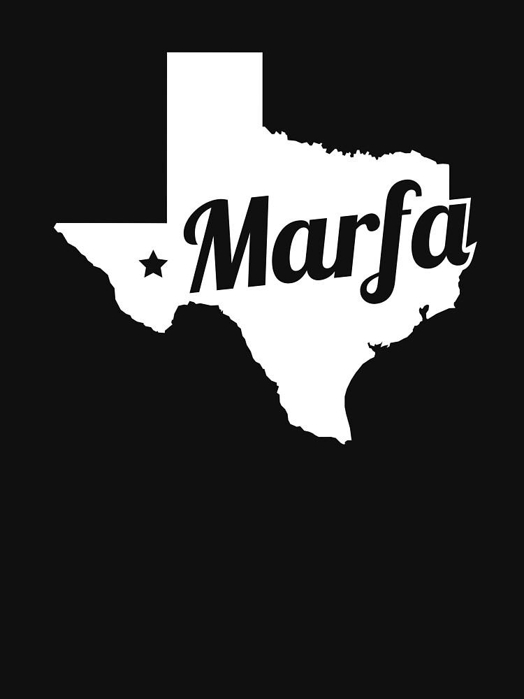 Marfa Texas - Texan Gift by EMDdesign