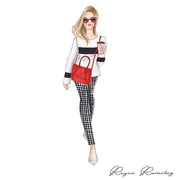 girl red bag by reyniramirezfi