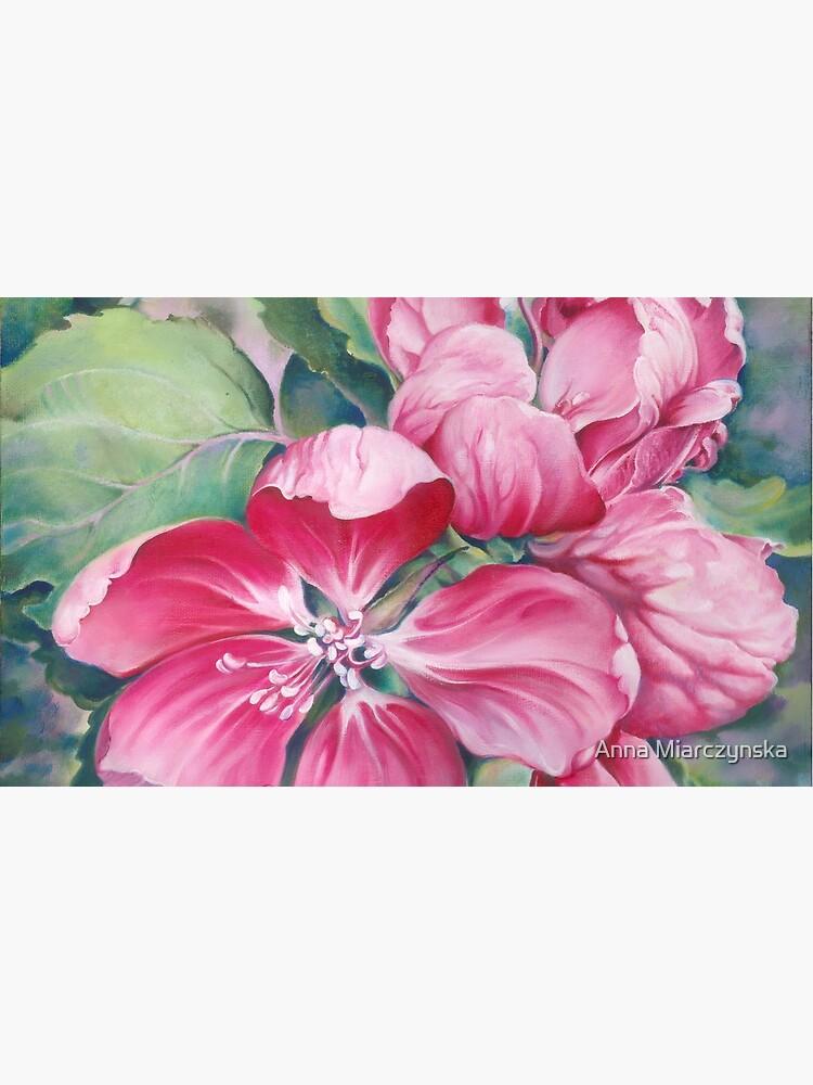 Blume von Krabbenapfel von AnnaHannahArt