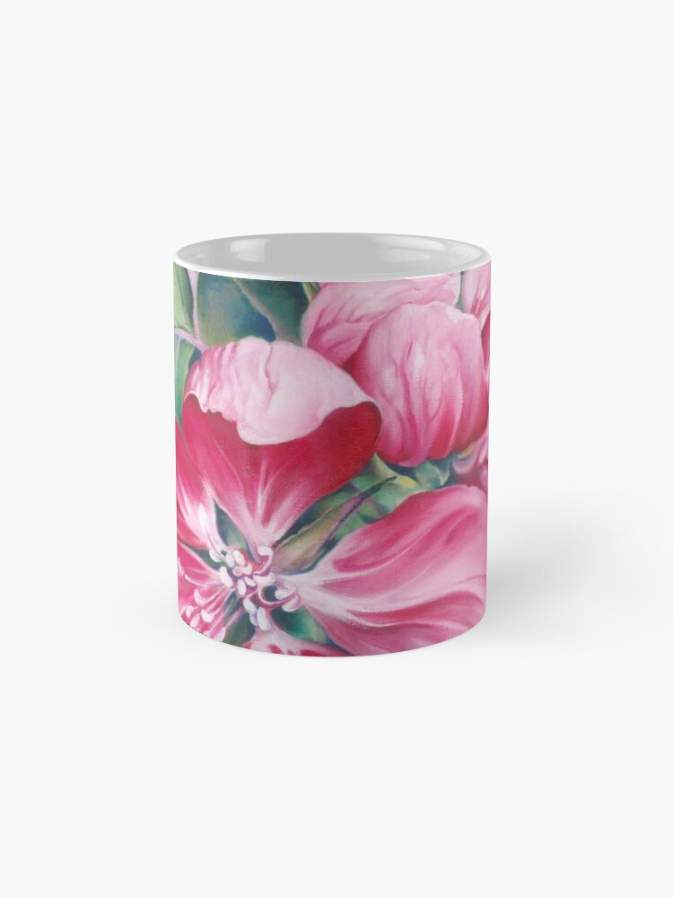 Alternative Ansicht von Blume von Krabbenapfel Tassen