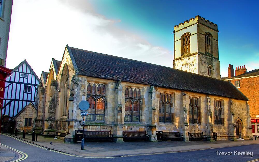 St Sampson Church - York by Trevor Kersley