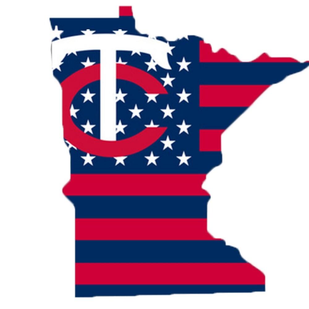 State of Minnesota Twins by emilywerfel