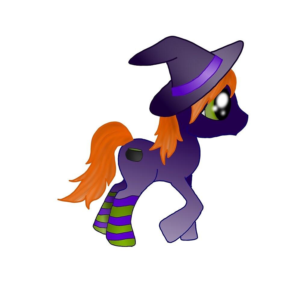 WitchyPoo Pony by DecemberGypsy