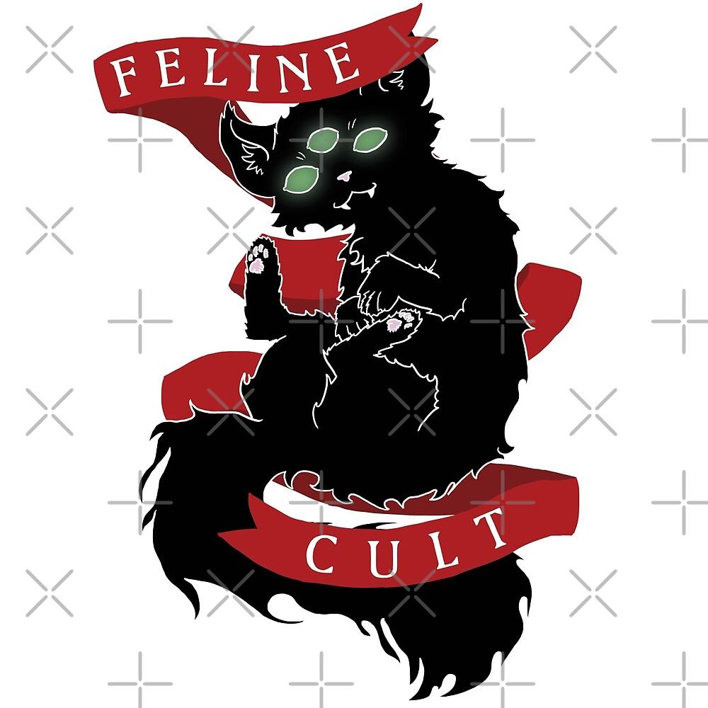 Feline Cult by Skullpen