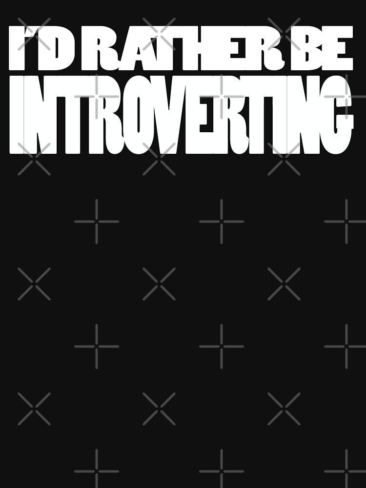Introverting by wordznart