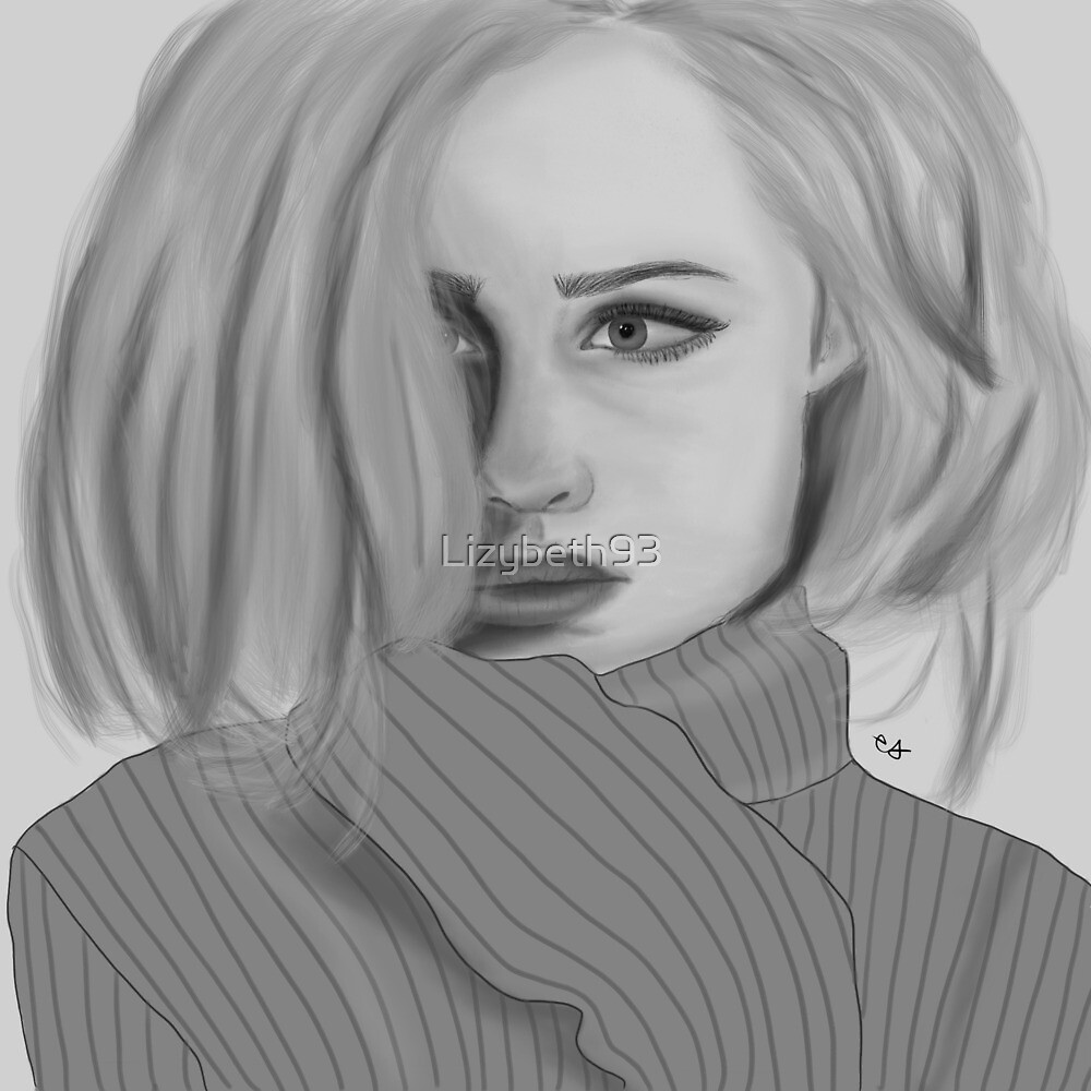 Grey girl  by Lizybeth93