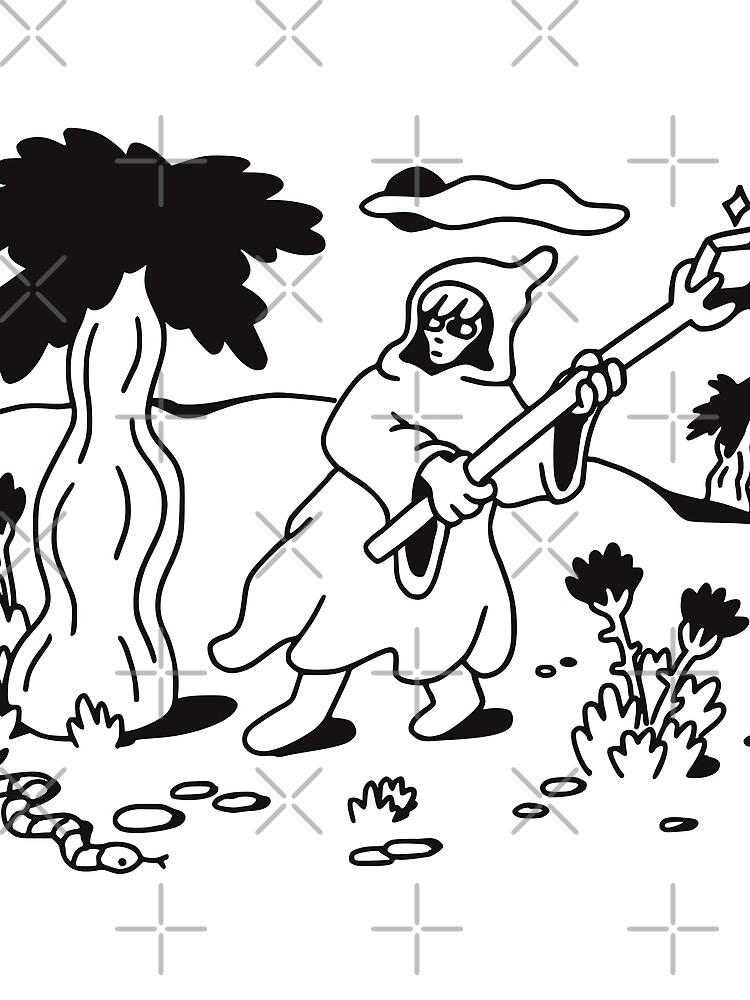 Mage Doodle by obinsun