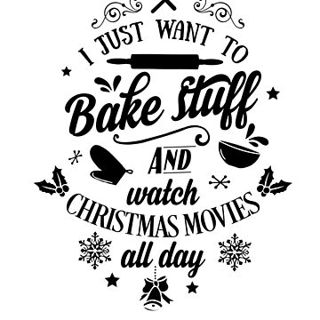 Christmas Cookies Holiday Christmas Baking Funny Xmas Gift for Bakers and Movie Fans by dfitts