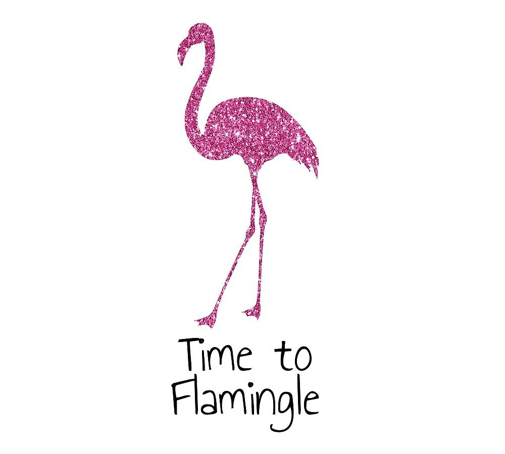 Time to Flamingle Flamingo by MeaLay7