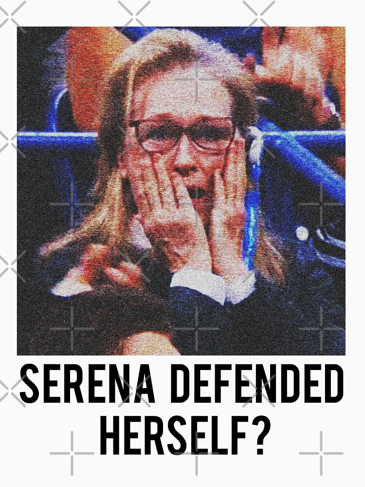 SERENA DEFENDED HERSELF. WHAT?!?! by MelanixStyles