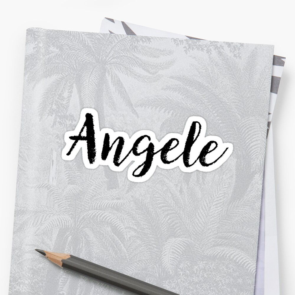 Angele - Cute Girl Names For Wife Daughter by soapnlardvx
