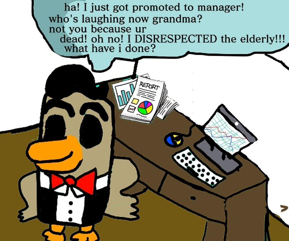 business bird got a promotion by businessbird08