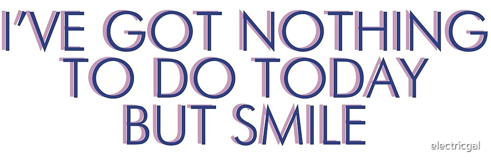 simon & garfunkel - i've got nothing to do today but smile by electricgal
