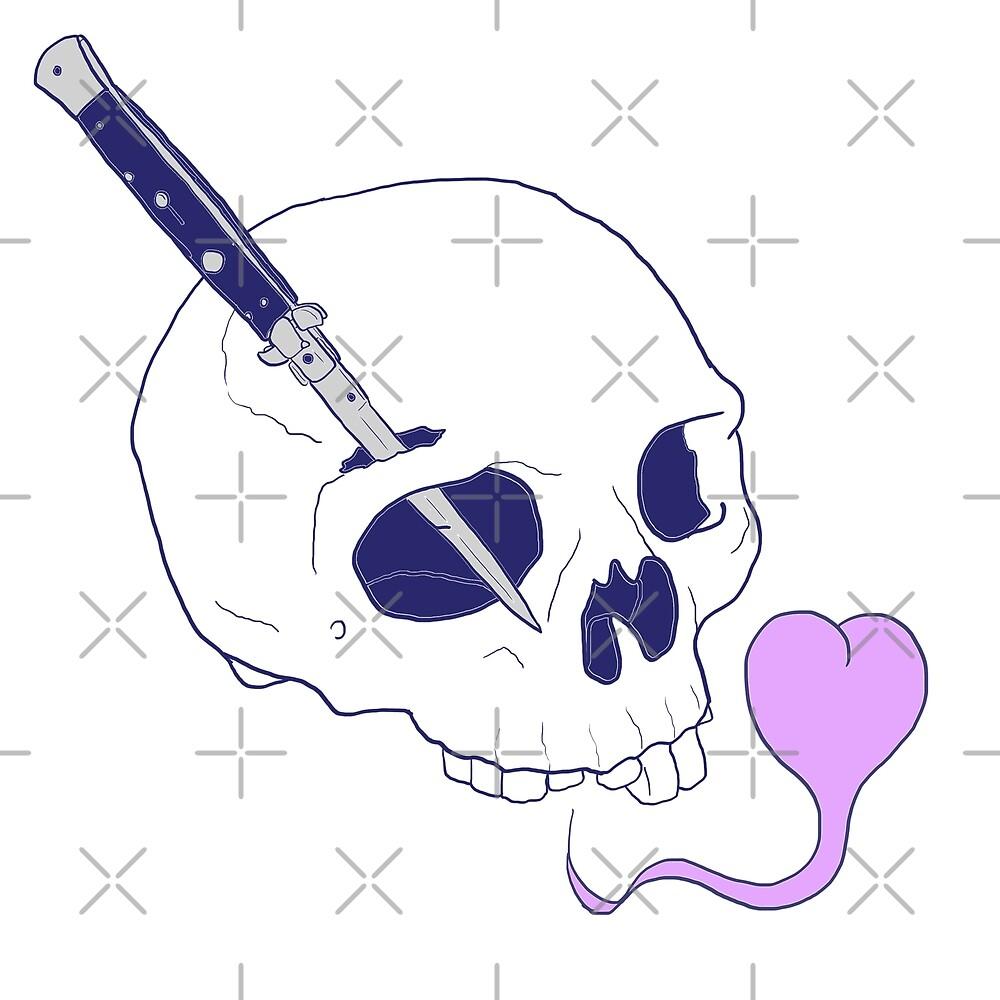Knife To Meet You by Skullpen