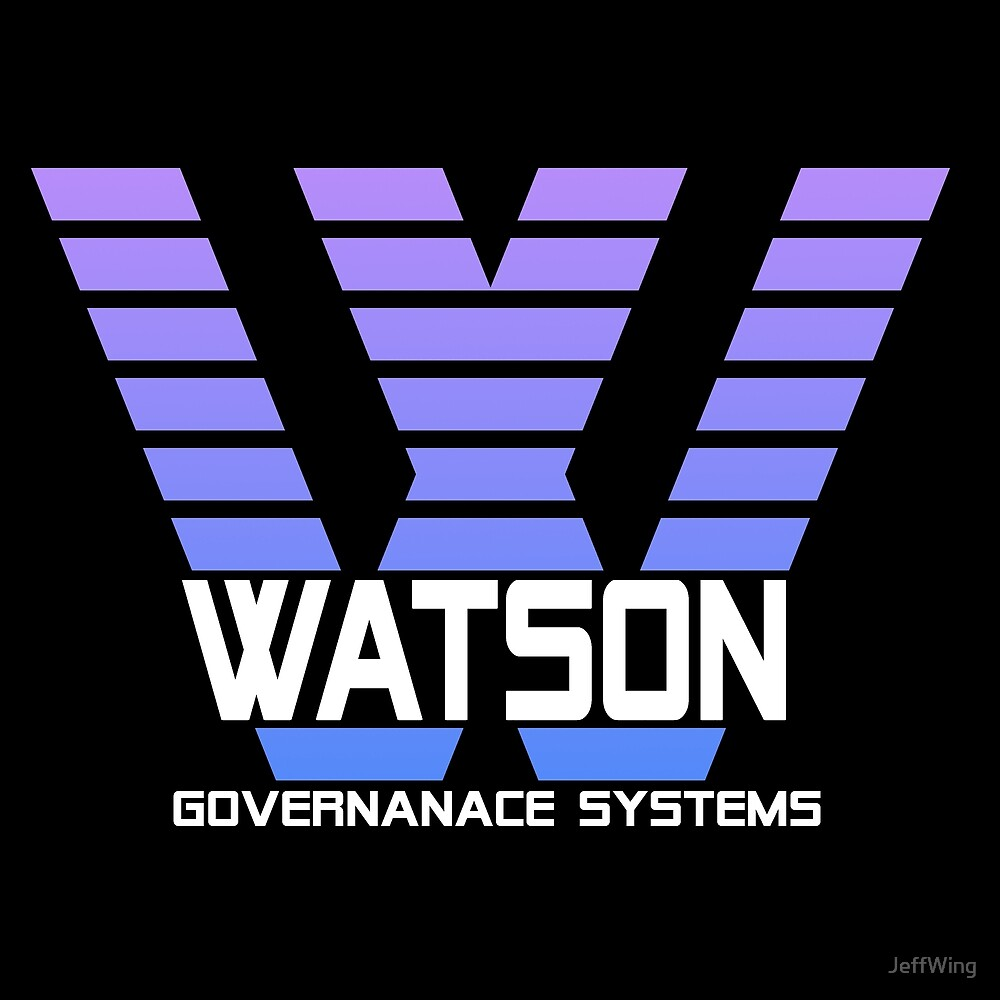 IBM Watson Governance Systems Cyberpunk by JeffWing