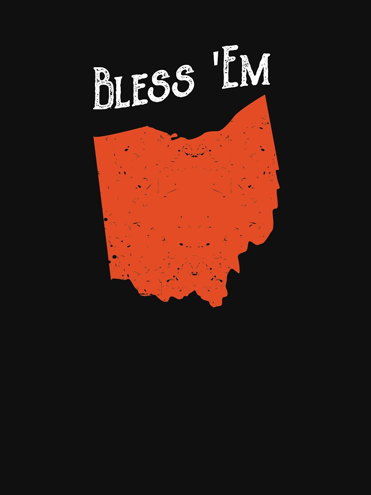 Bless 'Em Cleveland Ohio Football Fan  by ZippyThread