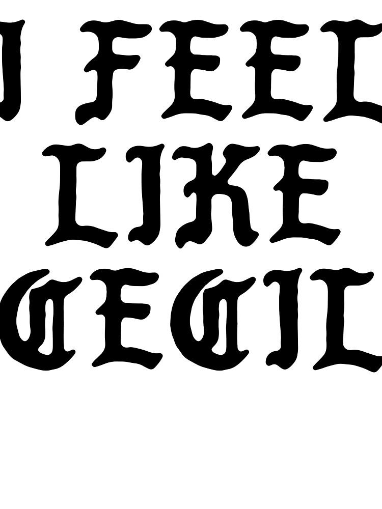 I Feel Like Cecil - Funny PABLO Parody Name Sticker by audesna
