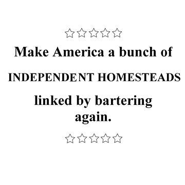 Make America homestead again by WindmillCo