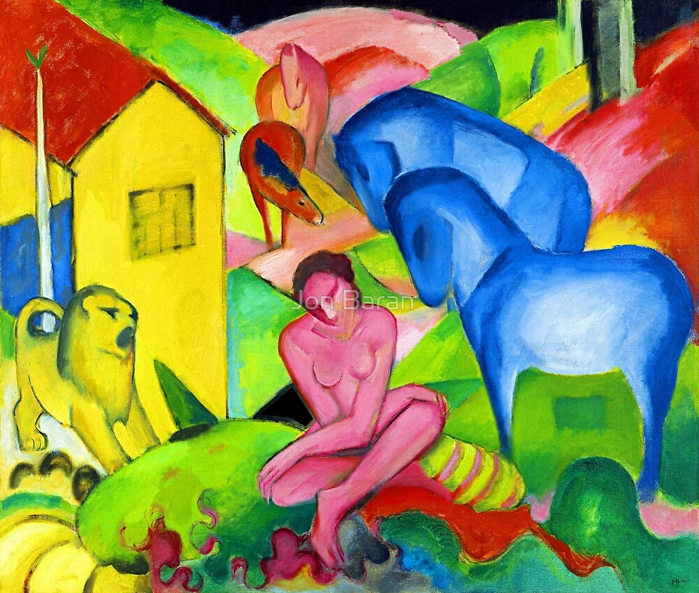 Franz Marc The Dream by Jon Baran