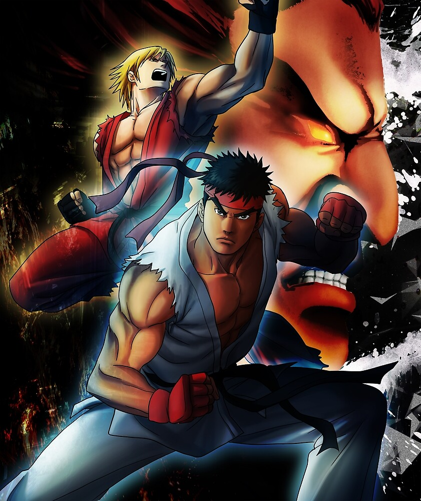 Street fighters by MCAshe