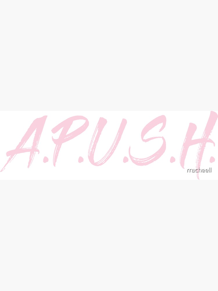 APUSH - Class Label in Pink by rracheell