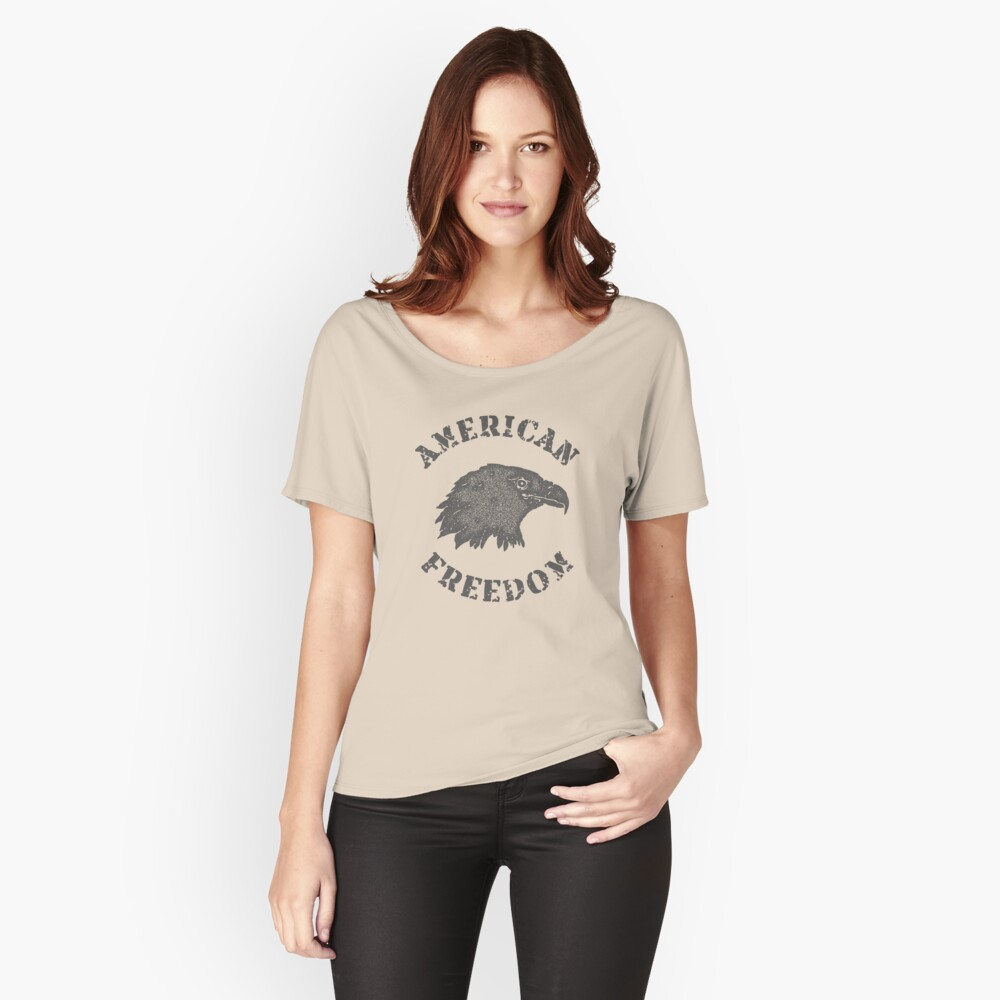 American Liberty Bald Eagle Relaxed Fit T-Shirt