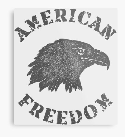 American Liberty Bald Eagle Metal Print