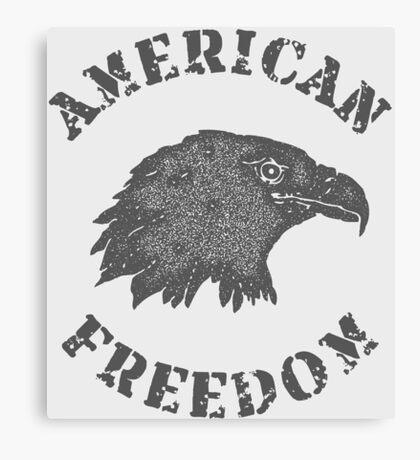American Liberty Bald Eagle Canvas Print