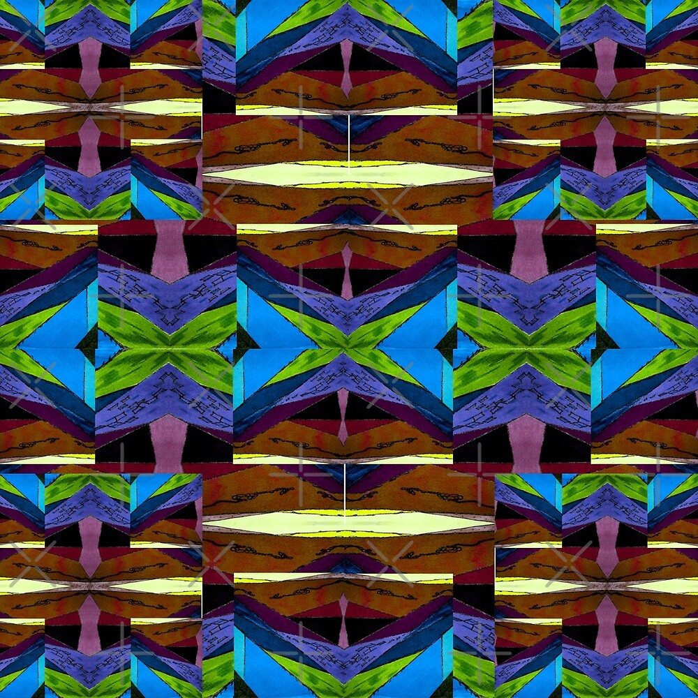 Starflower pattern by hdettman