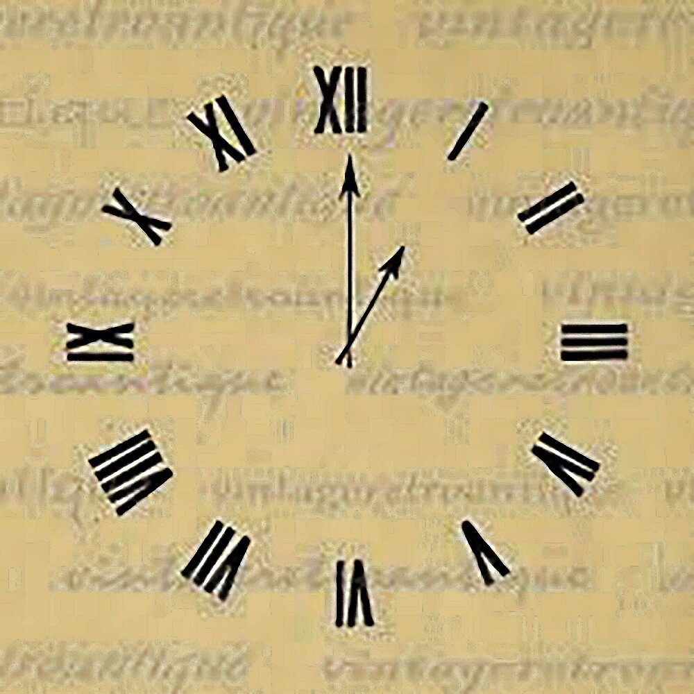 old clock vintage by serbandeira